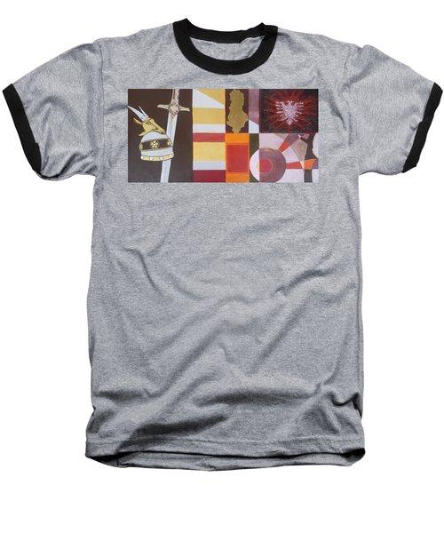 Figurativ Albanian Simbols Baseball T-Shirt