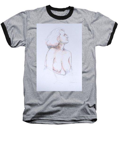 Figure Study Profile 1 Baseball T-Shirt
