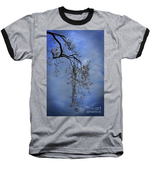 Baseball T-Shirt featuring the photograph Filigree From On High by Skip Willits