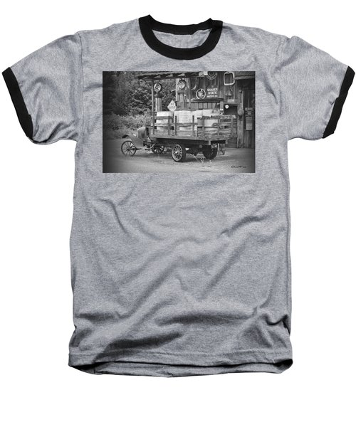 Fill Er Up          B And W Baseball T-Shirt