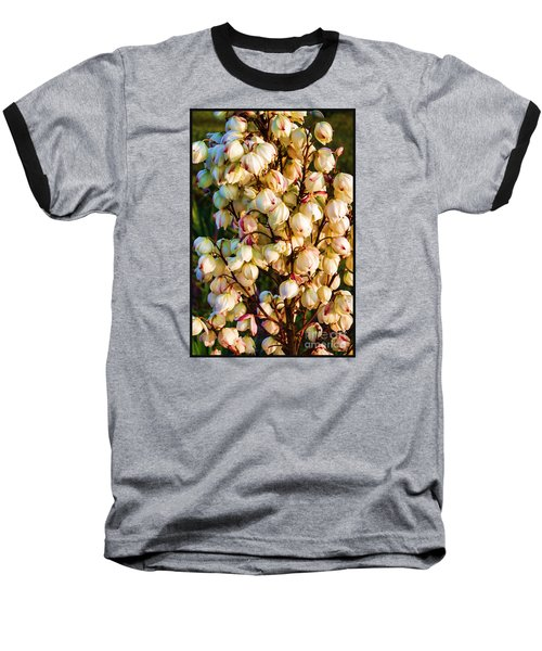 Filled With Joy Floral Bunch Baseball T-Shirt
