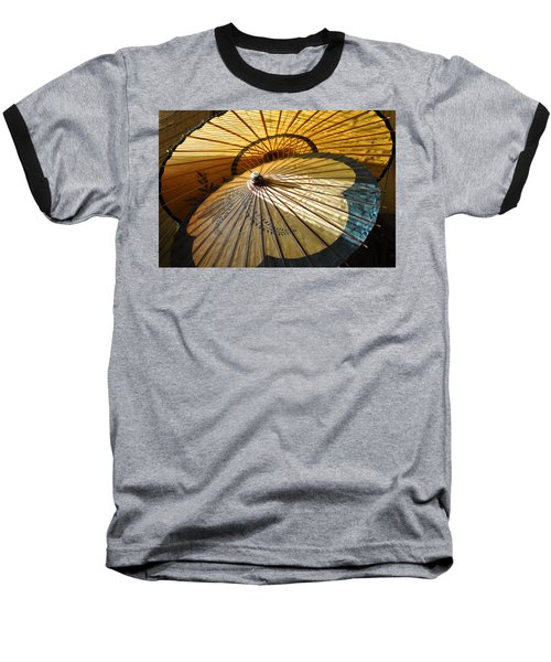 Filtered Light Baseball T-Shirt by Jan Amiss Photography