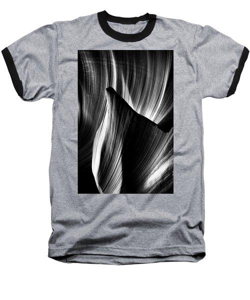 Fin Baseball T-Shirt by David Cote