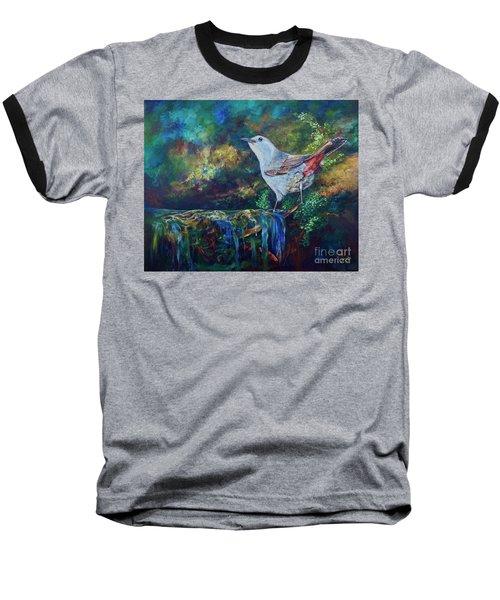 Gray Catbird Baseball T-Shirt