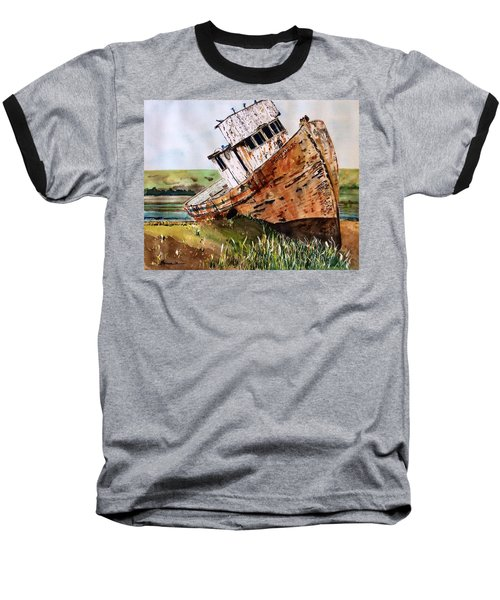 Baseball T-Shirt featuring the painting Final Resting by Patti Ferron