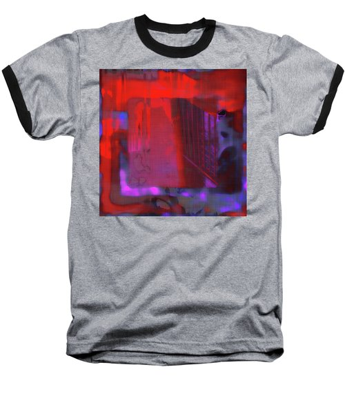 Baseball T-Shirt featuring the digital art Final Scene - Before The Bell by Wendy J St Christopher