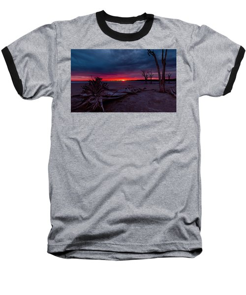 Final Sunset Baseball T-Shirt