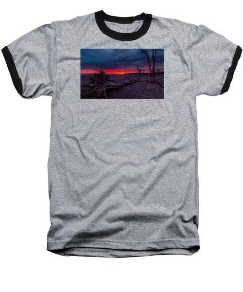 Final Sunset Baseball T-Shirt