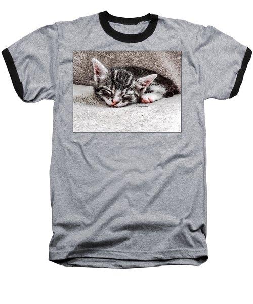 Finally Asleep  Copyright Mary Lee Parker 17  Baseball T-Shirt