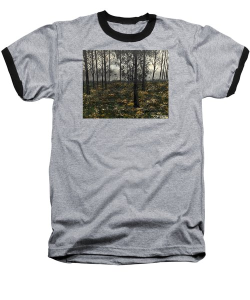 Find The Right Path Baseball T-Shirt by Lisa Aerts