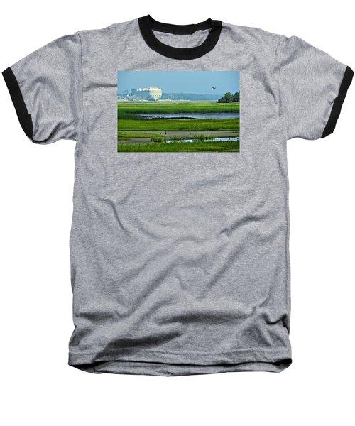 Baseball T-Shirt featuring the photograph Finding Balance by Laura Ragland