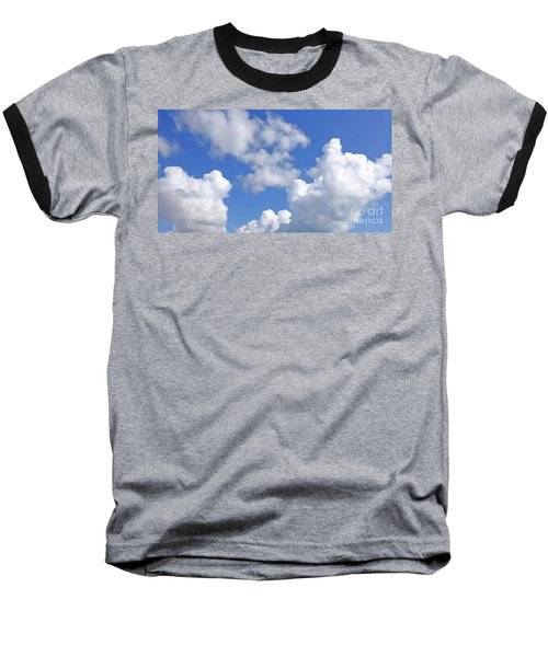 Baseball T-Shirt featuring the digital art Finding Focus Sky by Francesca Mackenney