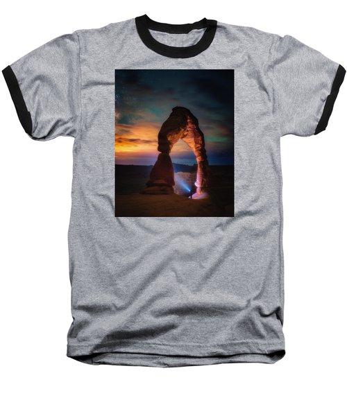 Baseball T-Shirt featuring the photograph Finding Heaven by Darren White