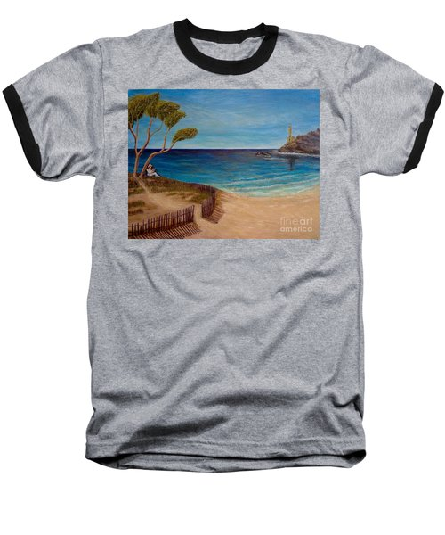 Finding My Special Place In The Summertime  Baseball T-Shirt by Kimberlee Baxter