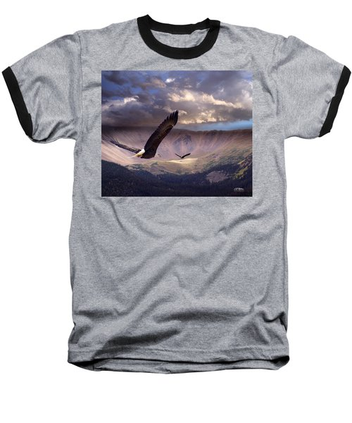 Finding Tranquility Baseball T-Shirt by Bill Stephens