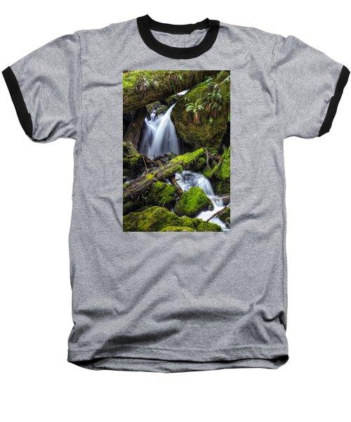 Finds A Way Baseball T-Shirt by James Heckt