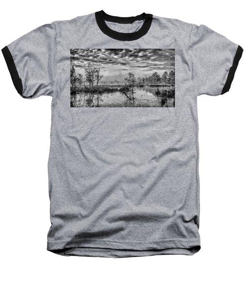Fine Art Jersey Pines Landscape Baseball T-Shirt