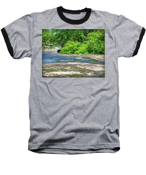 Fine Creek No. 3 Baseball T-Shirt by Laura DAddona