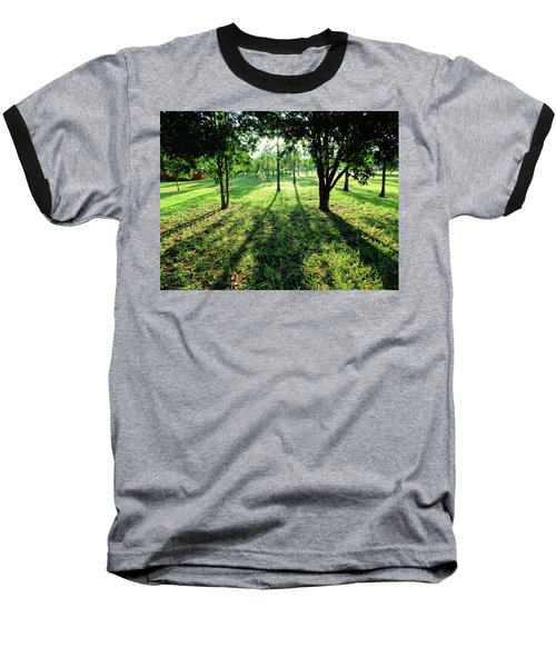 Baseball T-Shirt featuring the photograph Fine Shadows by Beto Machado