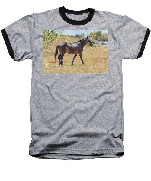 Finnon Lake Horse Baseball T-Shirt