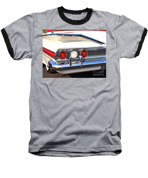 Fins Were In - 1960 Chevrolet Baseball T-Shirt