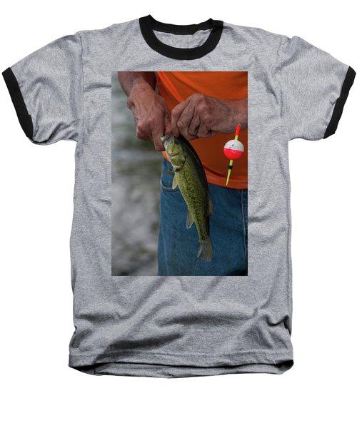 Baseball T-Shirt featuring the photograph Fip-1 by Ellen Lentsch