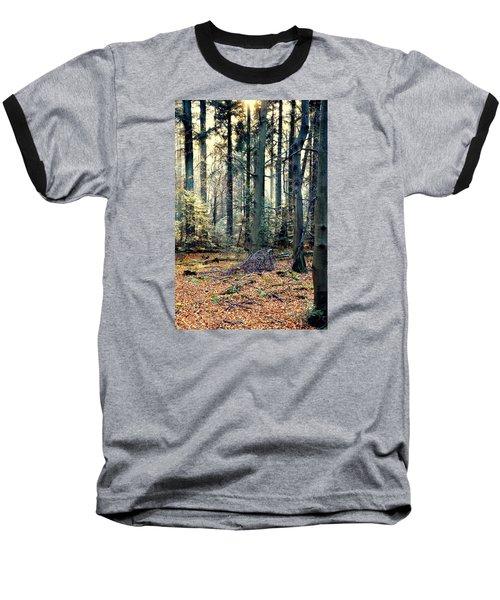 Fir Forest-2 Baseball T-Shirt by Henryk Gorecki