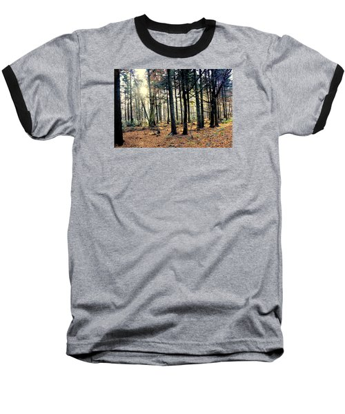 Fir Forest-3 Baseball T-Shirt