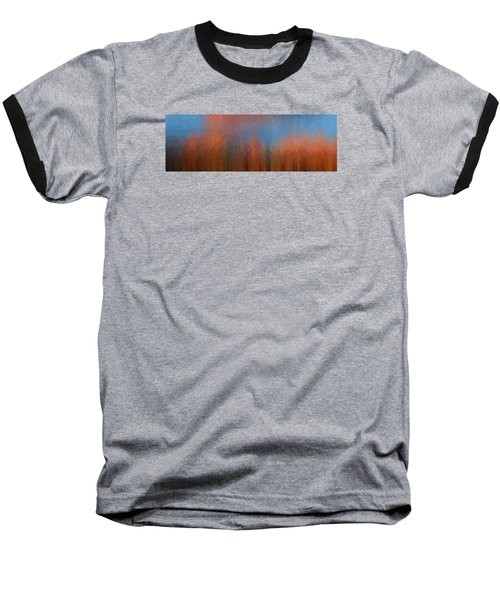 Baseball T-Shirt featuring the photograph Fire And Ice by Ken Smith