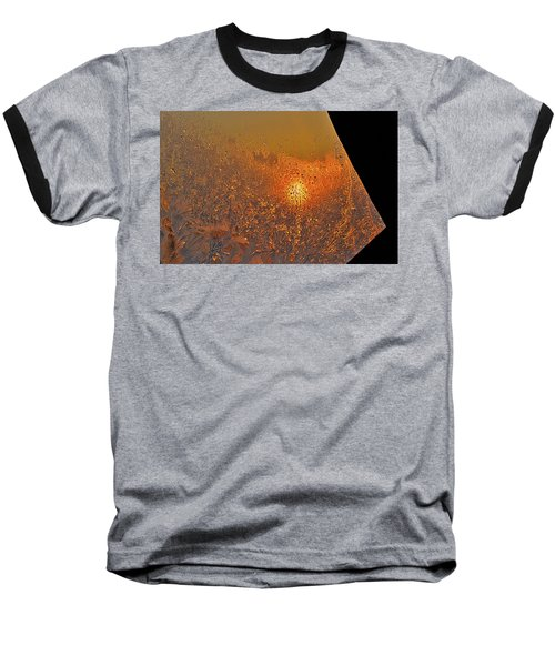 Baseball T-Shirt featuring the photograph Fire And Ice by Susan Capuano