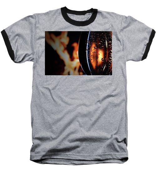 Fire And Rain Baseball T-Shirt