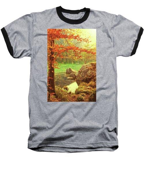 Fire And Water Baseball T-Shirt