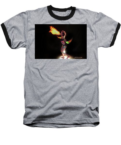 Fire Blowin Baseball T-Shirt