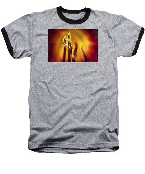Fire Dancers Baseball T-Shirt