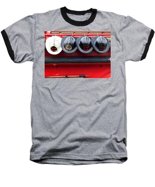 Fire Department Of The Usa Baseball T-Shirt