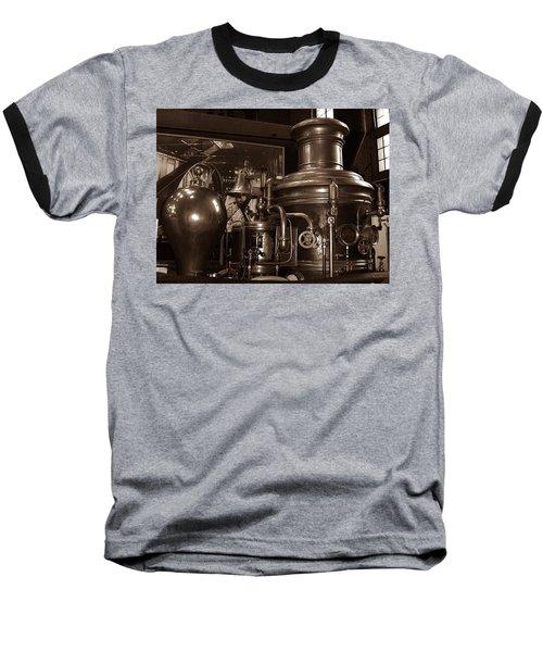 Fire Engine 1 Baseball T-Shirt