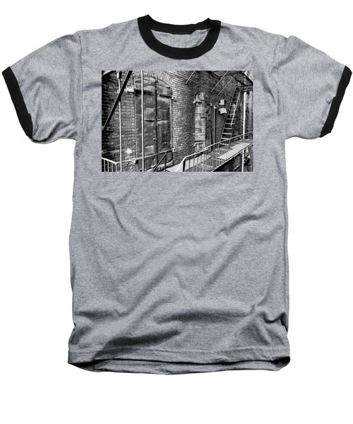 Fire Escape And Doors Baseball T-Shirt
