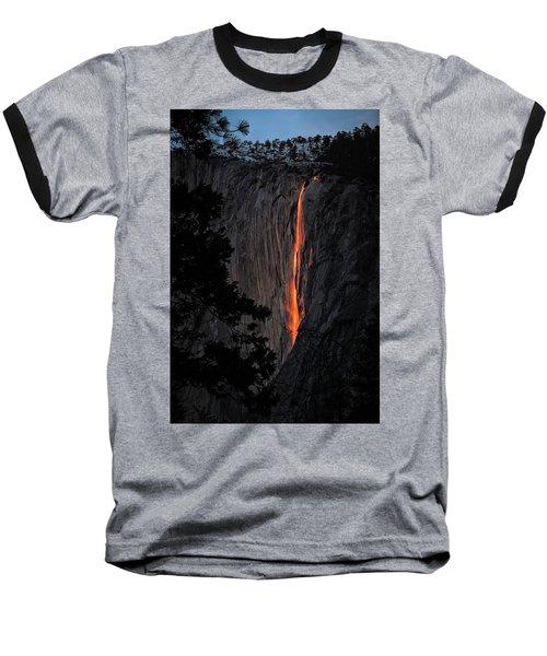 Fire Fall Baseball T-Shirt