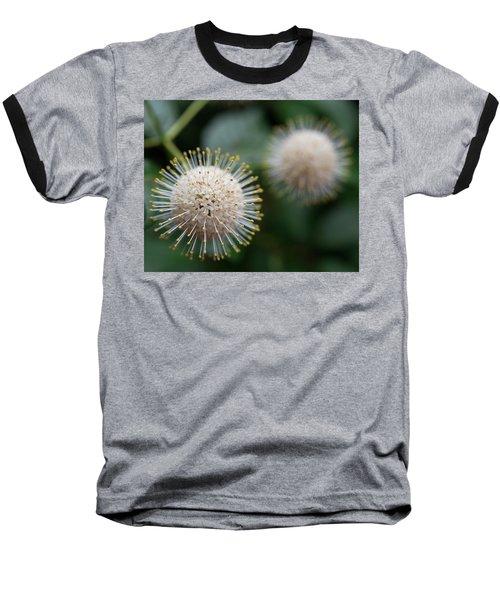 Fire Flowers Baseball T-Shirt