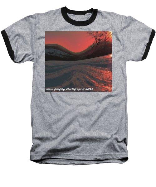 Fire Frost Baseball T-Shirt