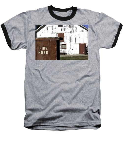 Fire Hose Baseball T-Shirt