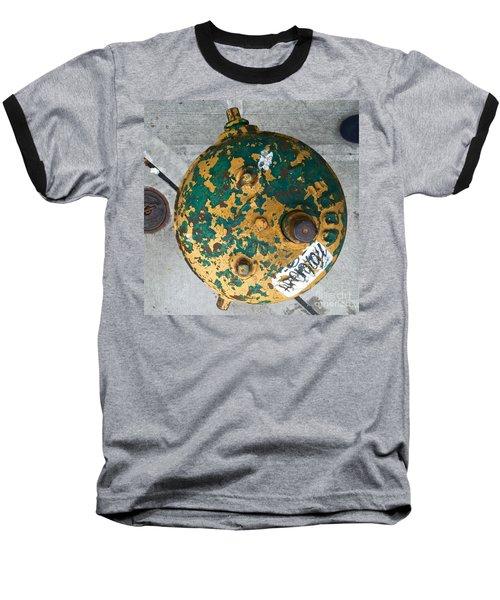 Fire Hydrant #2 Baseball T-Shirt by Suzanne Lorenz