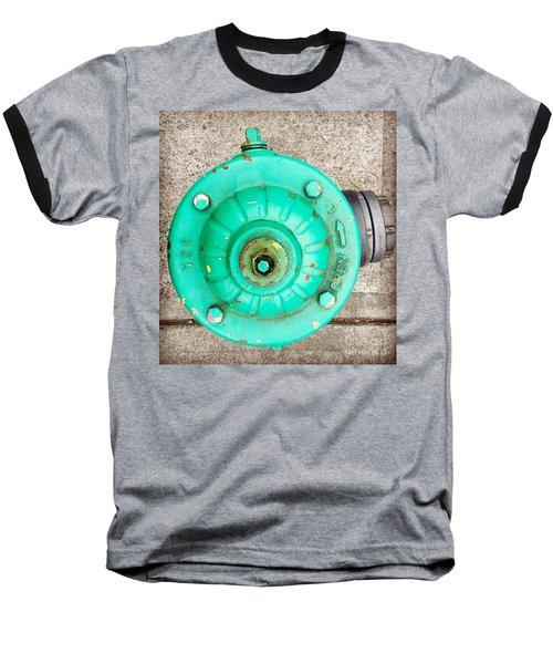 Fire Hydrant #6 Baseball T-Shirt by Suzanne Lorenz