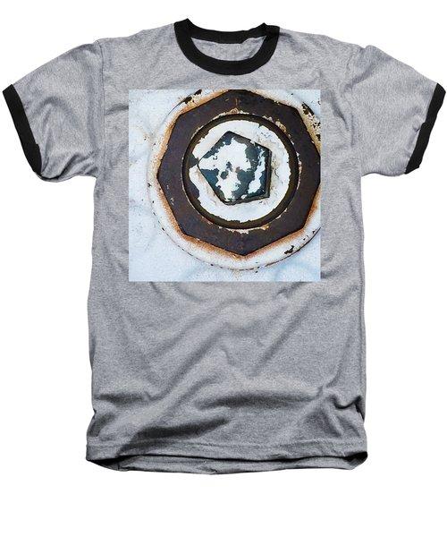 Fire Hydrant 9 Baseball T-Shirt by Suzanne Lorenz
