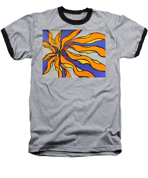 Fire, Ice, And Water Baseball T-Shirt