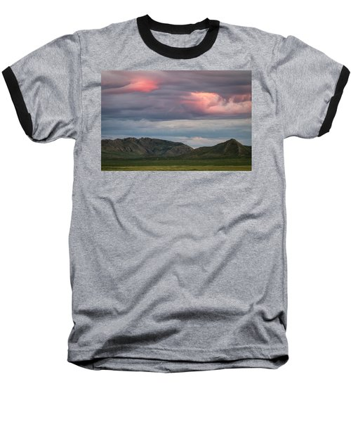 Glow In Clouds Baseball T-Shirt