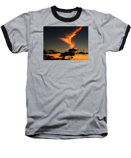 Early Evening Over Paros Island Baseball T-Shirt