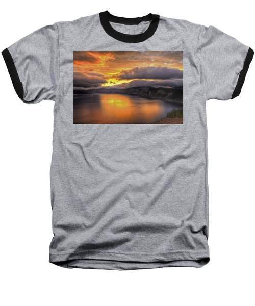 Fire In The Lake #1 Baseball T-Shirt