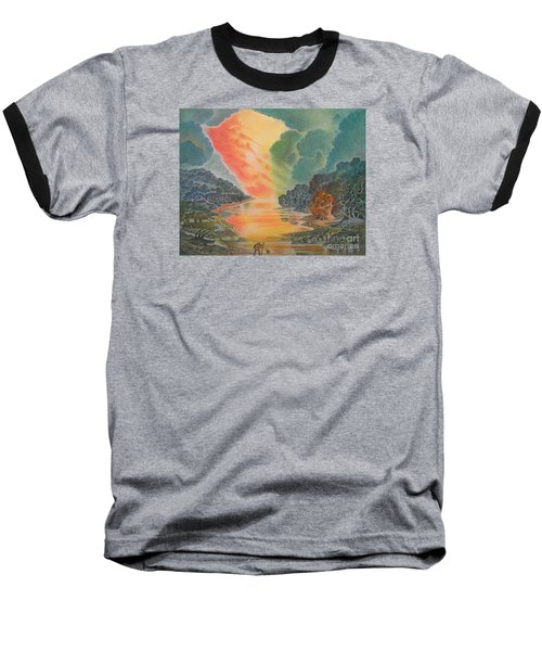 Fire In The Sky 2 Baseball T-Shirt
