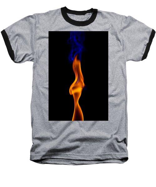 Baseball T-Shirt featuring the photograph Fire Lady by Gert Lavsen